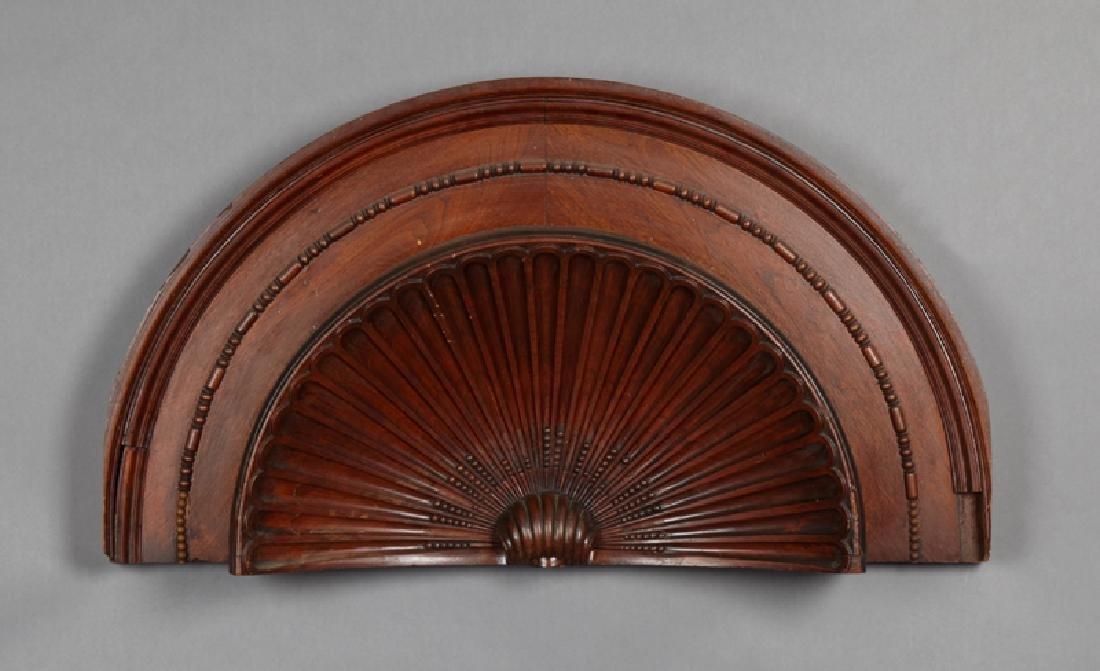 French Bronze Organ Lamp, 19th c., the adjustable light