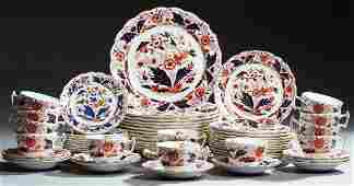 Sixty Piece Partial Set of Booth's China Dinnerware,