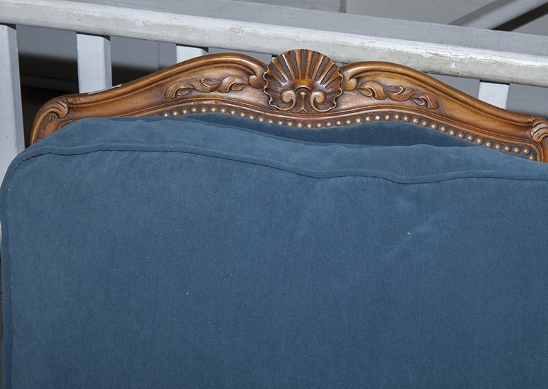 French Louis XV Style Carved Walnut Three Piece Parlor - 8