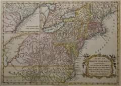 """Gilles Robert de Vaugondy (1688-1766), """"A part of North"""