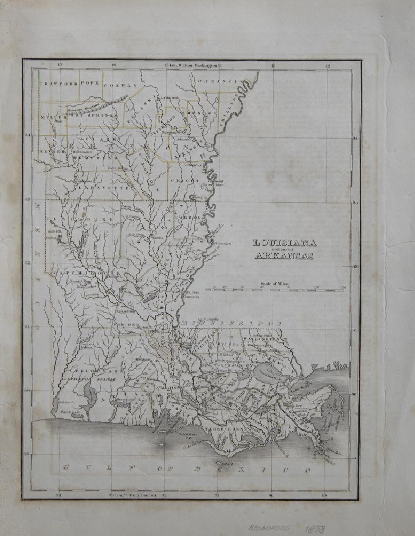 """Thomas Bradford (1802-1887),"""" Louisiana and Part of"""