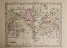 "Samuel Augustus Mitchell (1790-1868), ""World on the"