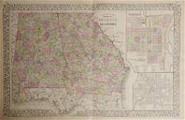 Samuel Augustus Mitchell 17901868  County Maps of