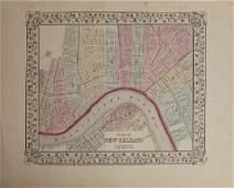 "Samuel Augustus Mitchell (1790-1868), "" Plan of New"