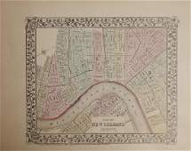 "Samuel Augustus Mitchell (1790-1868), ""Plan of New"