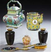 Group of Seven Chinese Pieces, 20th c., consisting of a