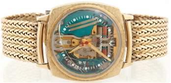 Bulova Accutron Spaceview Gold Filled Man