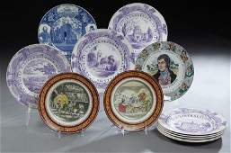 Group of Twelve Collector Plates 20th c consisting