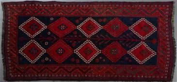 SemiAntique Persian Shiraz Carpet 4 7 x 9 9