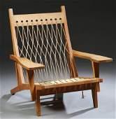 Danish Mid Century Modern GE 290 Easy Chair, c.1950,