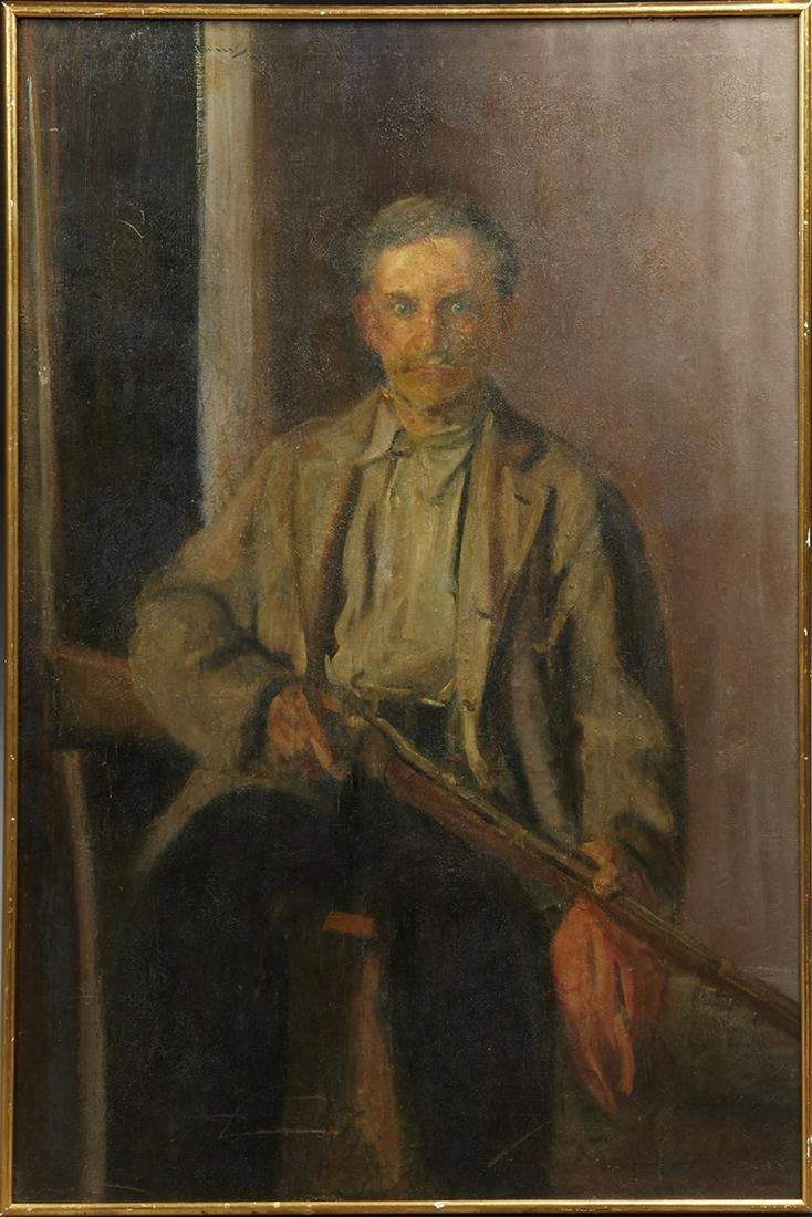 "Wayman Adams (1883-1959, Texas), ""Portrait of Benny"