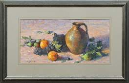 W Schultz 19192005 Still Life of Fruit and a
