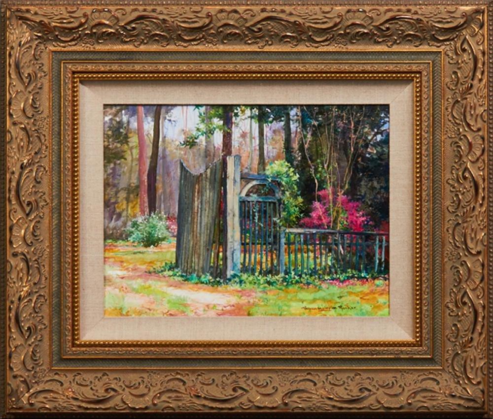 "Robert M. Rucker (1932-2000, Louisiana), ""The Garden"