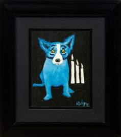 "George Rodrigue (1944-2013, Louisiana), ""Flames of"