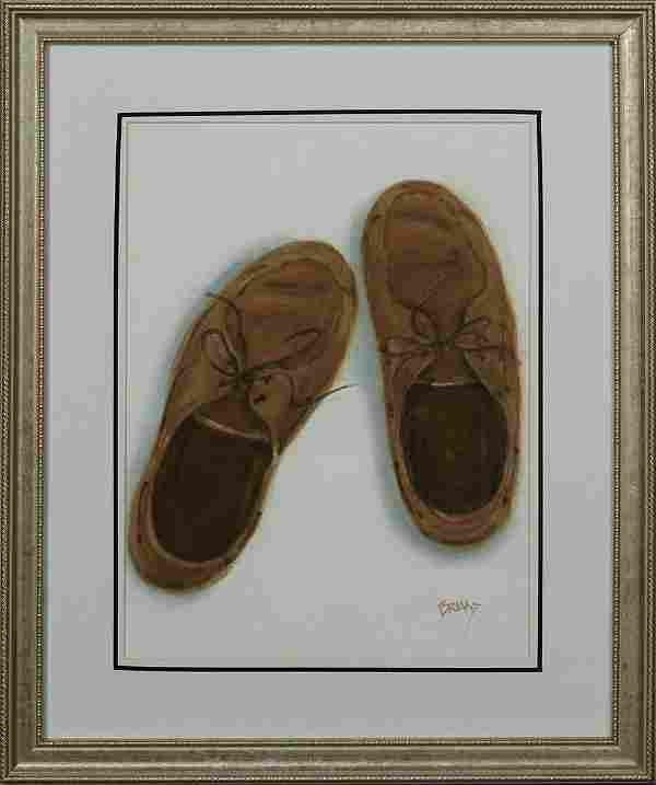 Peter Briant New Orleans Shoes 20th c