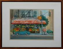 """Peter Briant (New Orleans), """"Golden Ball Fruit Co.,"""""""