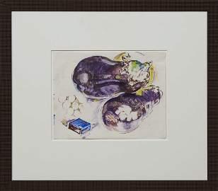 "Walter Anderson (1903-1965, Mississippi), ""Eggplants,"""