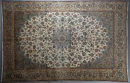 Semi-Antique Persian Kashan Carpet, 10' 1 x 15' 10.
