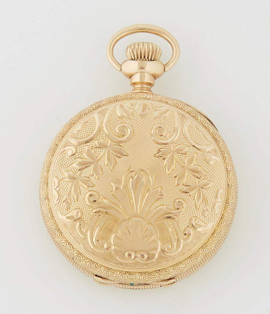 Elgin 14K Gold Pocket Watch, 1903