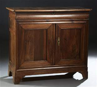 French Provincial Louis Philippe Carved Walnut