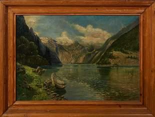 Carl Friedrich A. Lorentzen (1801-1880, German),