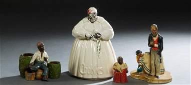 Four Pieces of Black American Memorabilia, 20th c.,