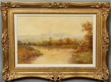 """F.H.W. (English), """"A View of Windsor Castle,"""" early"""