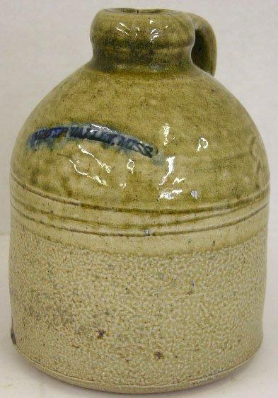 6: Mississippi Stoneware Jug, 19th c., the shoulder imp