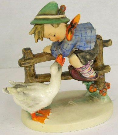 "7: Hummel Figure, ""Barnyard Hero,"" designed in 1948 by"