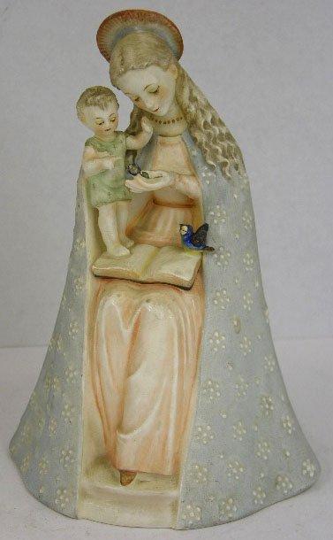 12: Hummel Madonna Figure, # 10/1, H.- 8 3/8 in., W.- 5