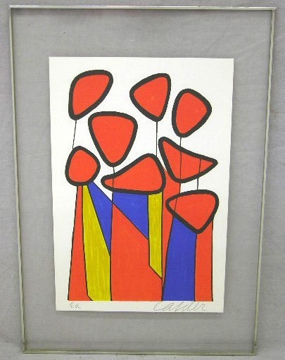 "390: Alexander Calder (1898-1976), ""Flowers,"" 20th c.,"