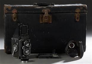 Vintage Rolleiflex View Camera, Ser. # 1493045, with a