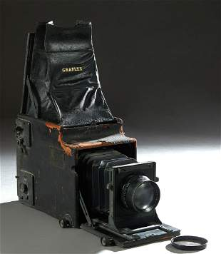 Graflex Large Format Wood Frame Camera, early 20th c.,