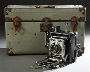 Vintage Graflex 4 x 5 Crown Graphic Camera, Ser. #