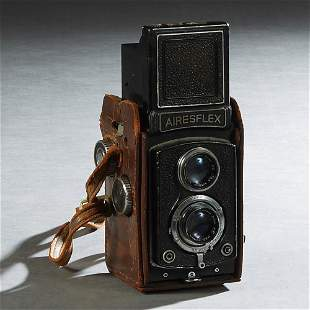 Airesflex Two Lens View Camera, 20th c., with two