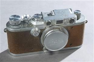 Vintage Leitz 35mm Rangefinder Camera, Ser. #223498