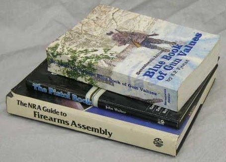 "21: Group of Three Gun Books- ""Blue Book of Gun Values,"