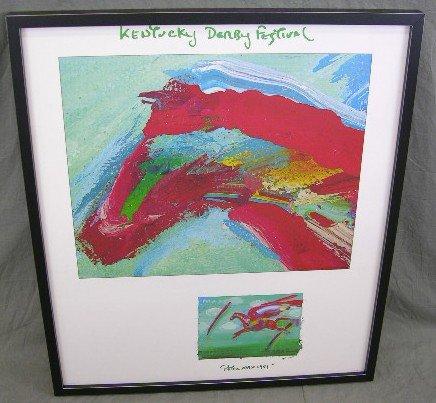 "257: Peter Max, ""Kentucky Derby Festival,"" 1981, poster"