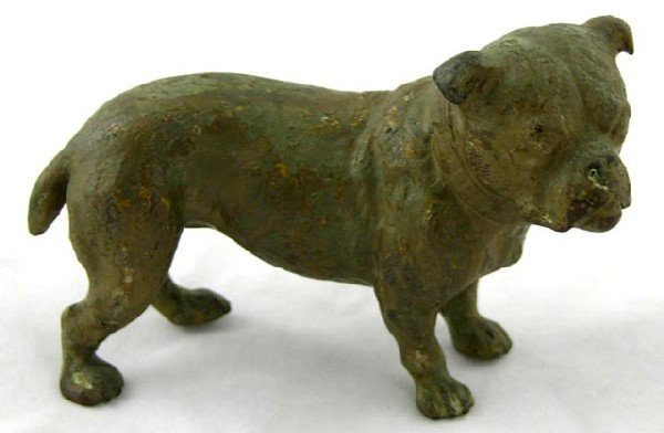 752:  Vienna Bronze Figure of a Bulldog, late
