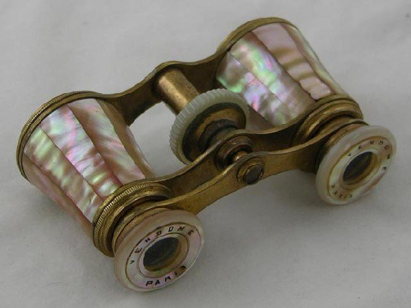 756:  Pair of Mother-of-Pearl Opera Glasses, 1