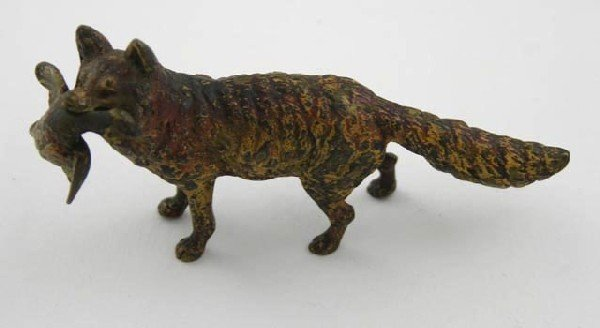 758:  Cold Painted Vienna Bronze, 19th c., of