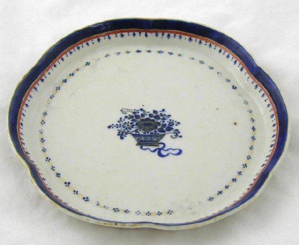 773:  Chinese Qianlong Porcelain Plate, c. 179