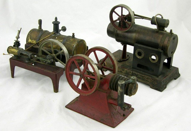 2: Two Toy Live Steam Engines, early 20th c., one of ca