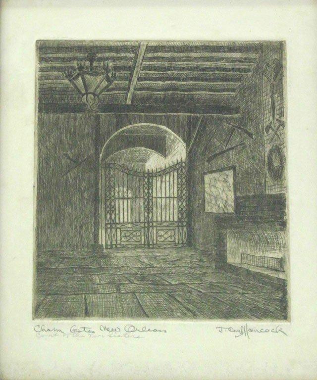 "804: James Carl Hancock (1898-1966), ""Charm Gates, New"