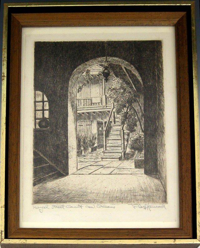 "804A: James Carl Hancock (1898-1966), ""Royal Street Cou"