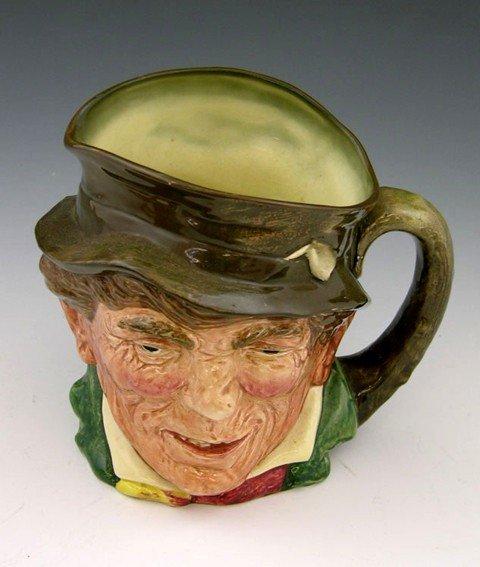 """11: Royal Doulton Toby Mug, """"Paddy,""""  R. N. #817032, H."""