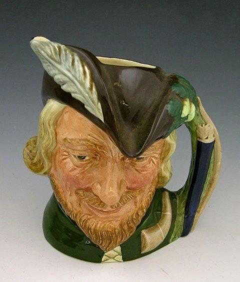 "12: Royal Doulton Toby Mug, ""Robin Hood,"" 1959, D6527,"