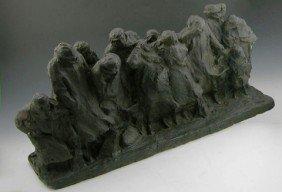 """Ulric M. Ellerhausen (1879-1957), """"The Commuters,"""""""