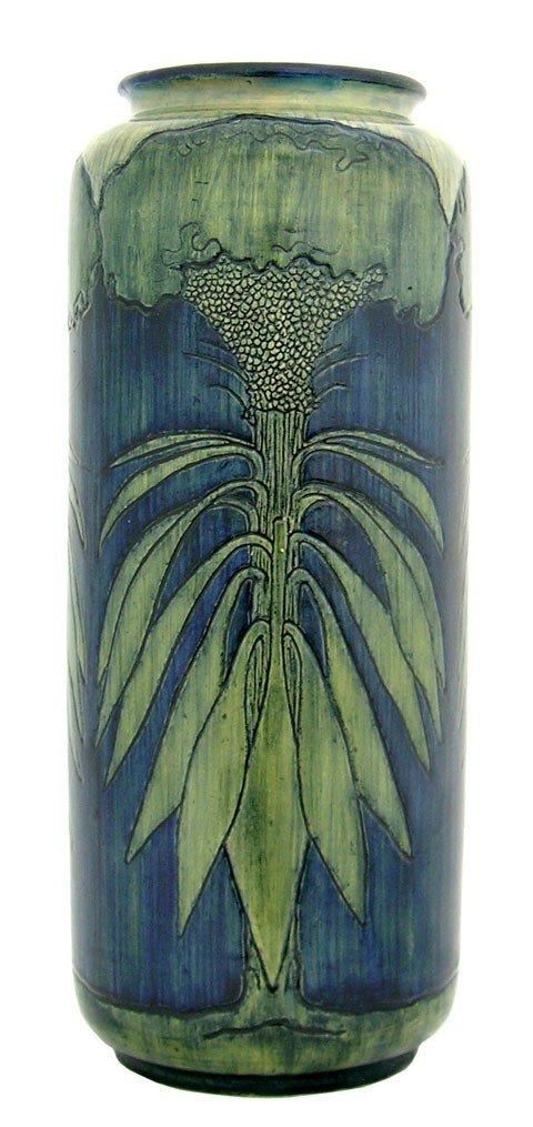 575: A Fine Rare Newcomb College Pottery Vase,  1902, b