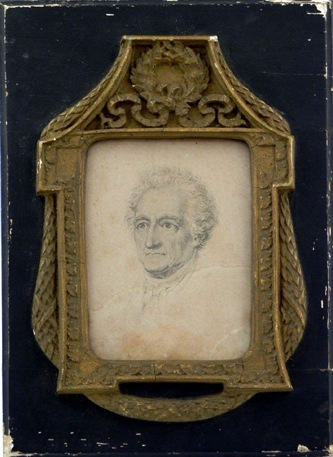 "22: French School, ""Portrait of a Gentleman,"" 19th c.,"